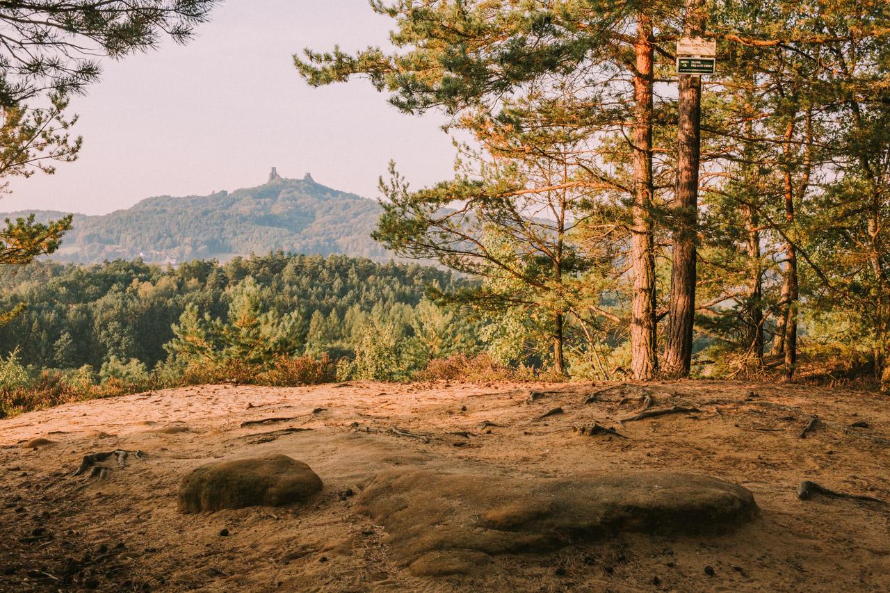 Заповедник Чешский Рай, Борецкие скалы