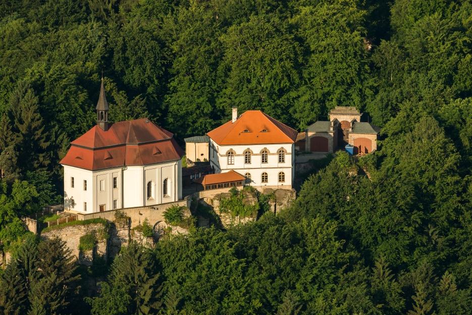 Замок Вальдштейн, заповедник Чешский Рай