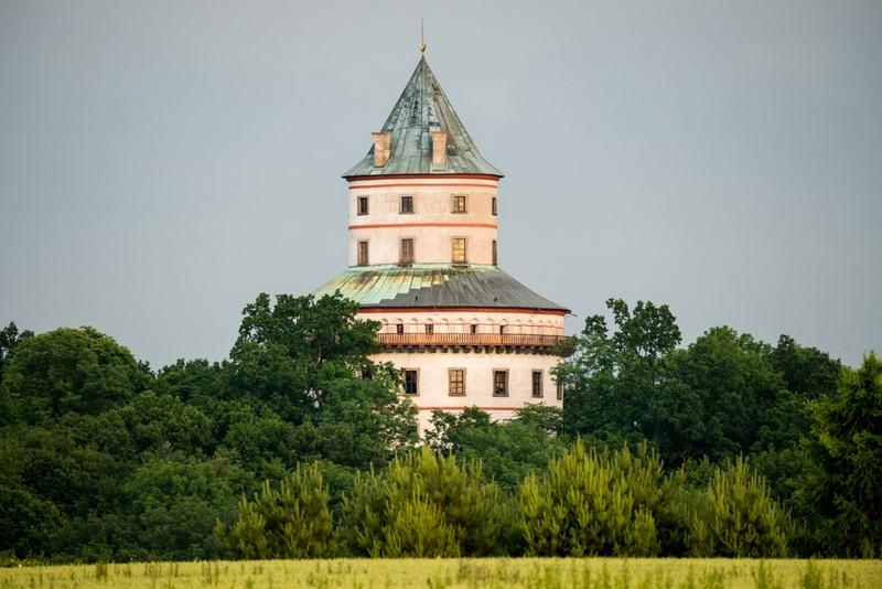 Гумпрехтский замок, заповедник Чешский Рай