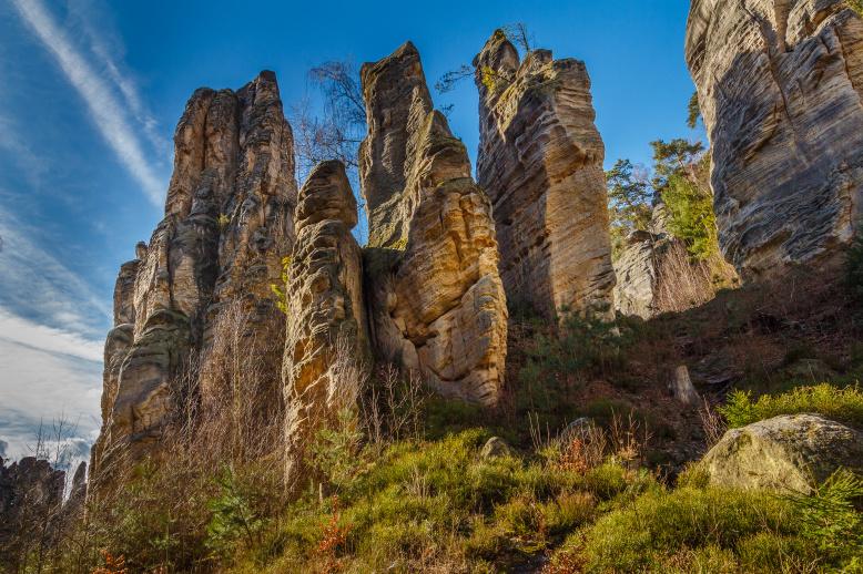 Заповедник Чешский Рай, Праховские скалы