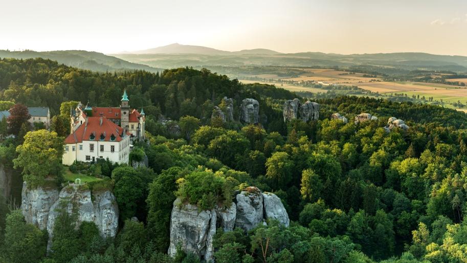 Замок Грубая скала, Чешский рай