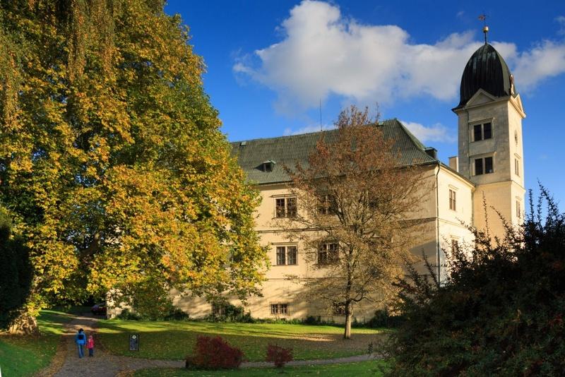 Замок Грубый Рогозес, заповедник Чешский Рай