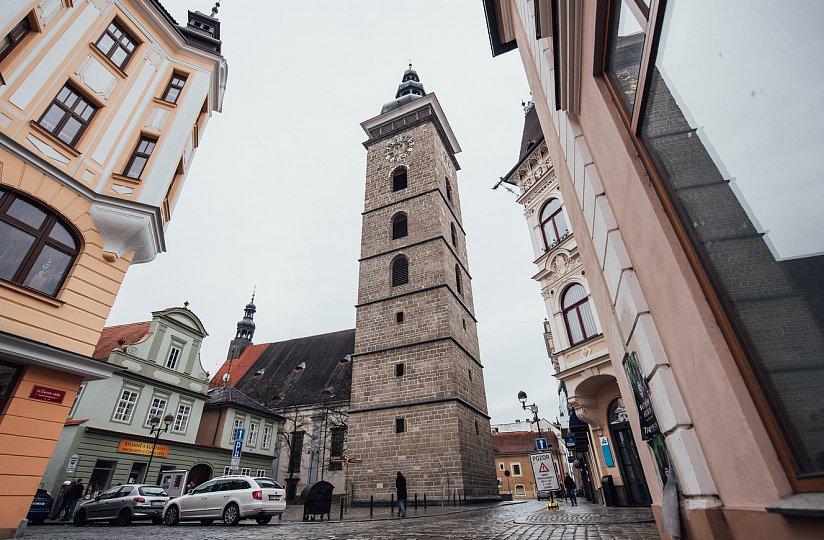 Черная башня в Ческе-Будеевице
