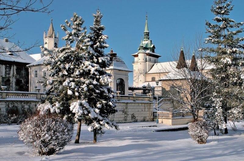 Костел св. Иоанна Крестителя в Теплице