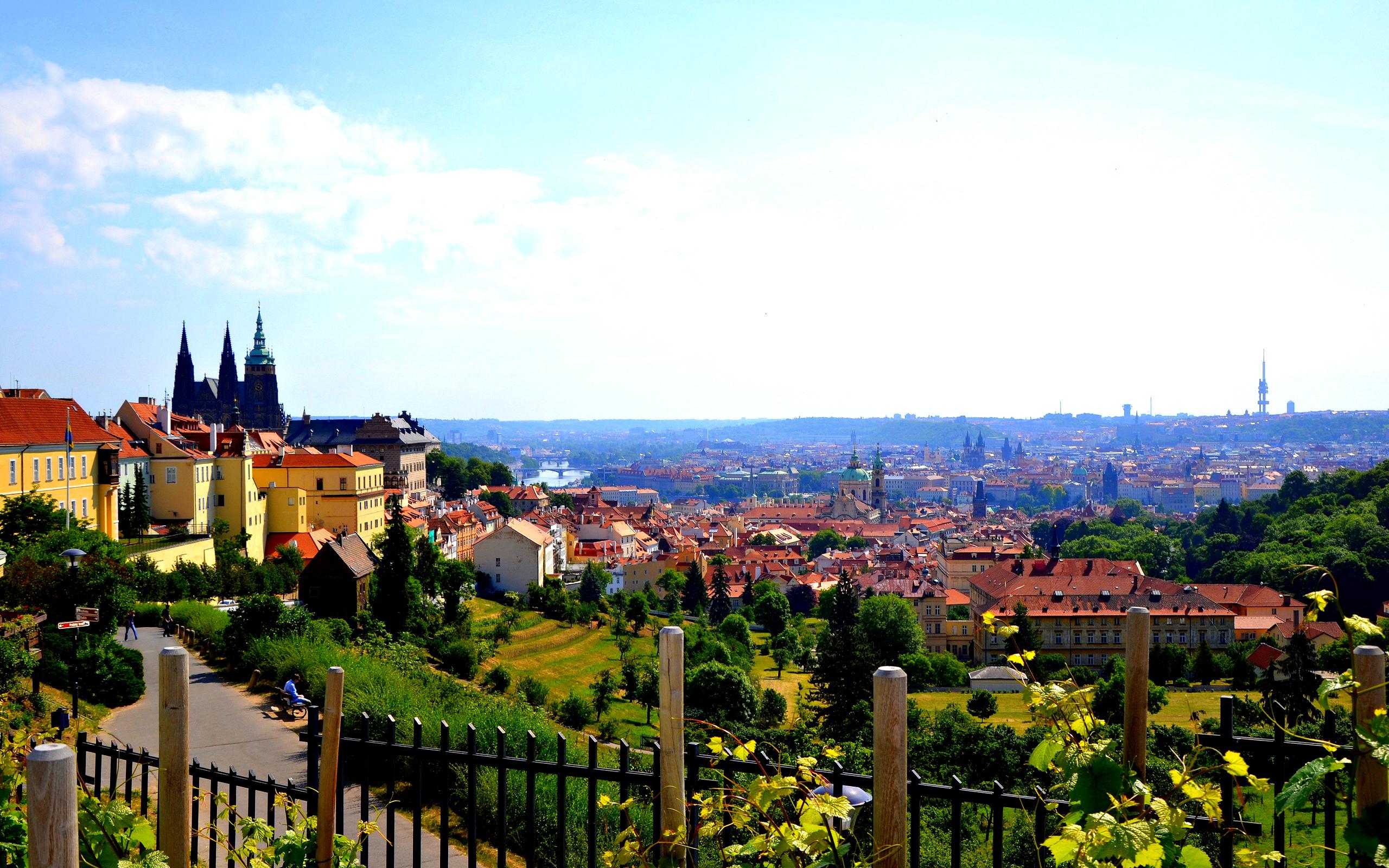 лето в Чехии