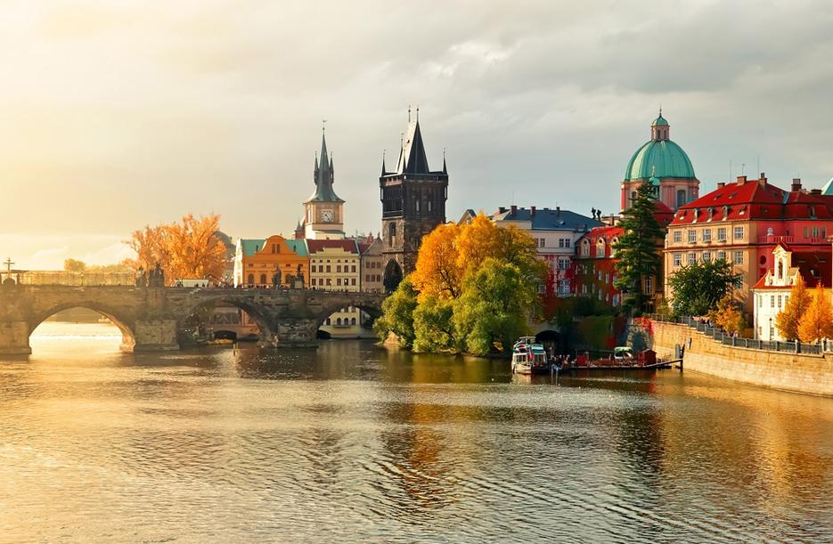 осень в Чехии