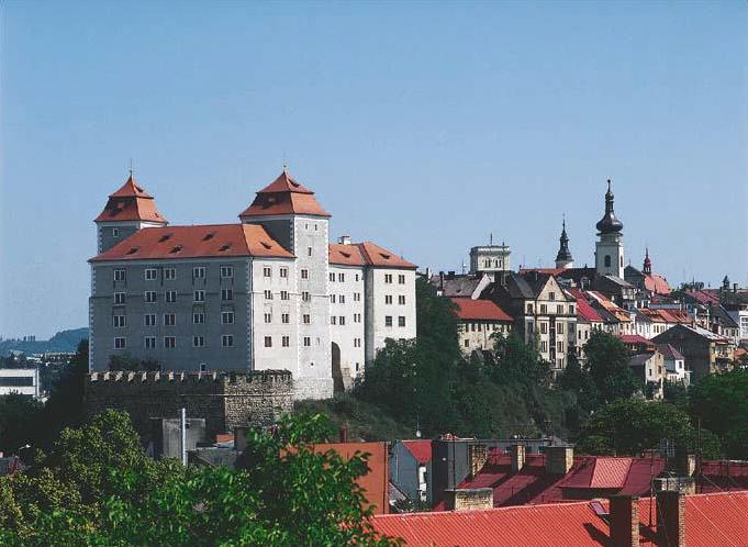 Город Млада Болеслав в Чехии