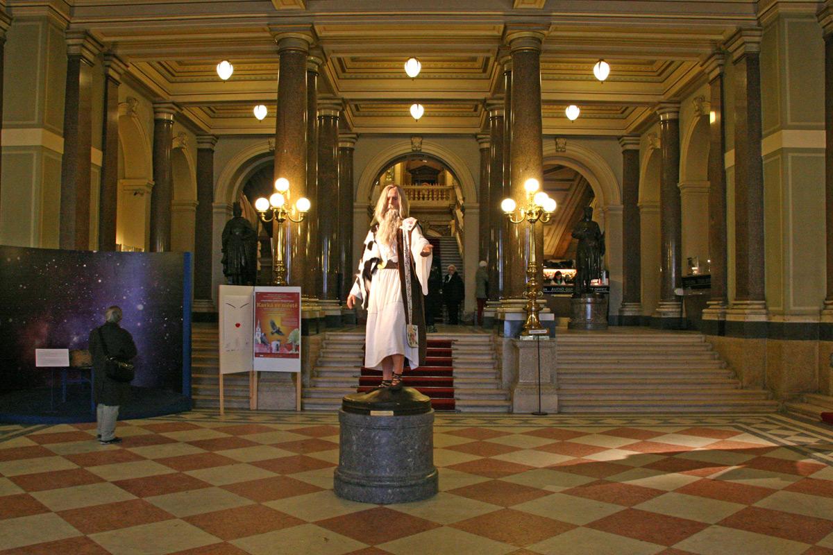 Национальный музей Чехии в Праге На Вацлавской Площади