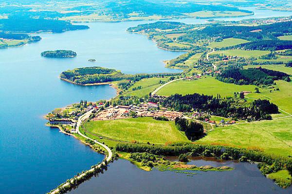Озеро Lipno