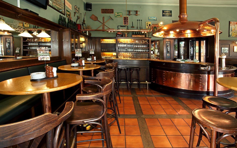Пивной ресторан Колковна в Праге