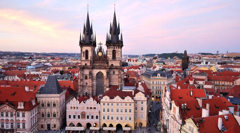 Тынский храм в Праге