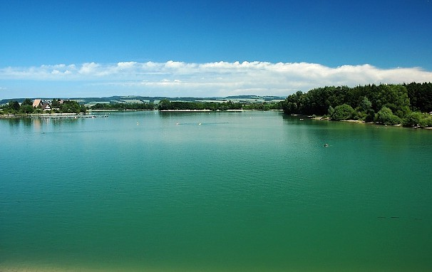 Водохранилище Rozkoš