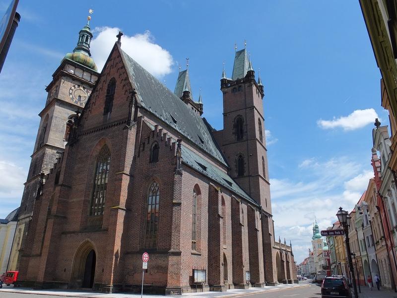Собор Святого Духа, Градец Карлове