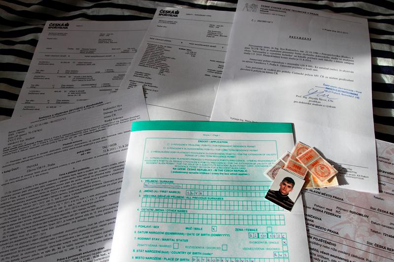 Документы для чешского вида на жительство