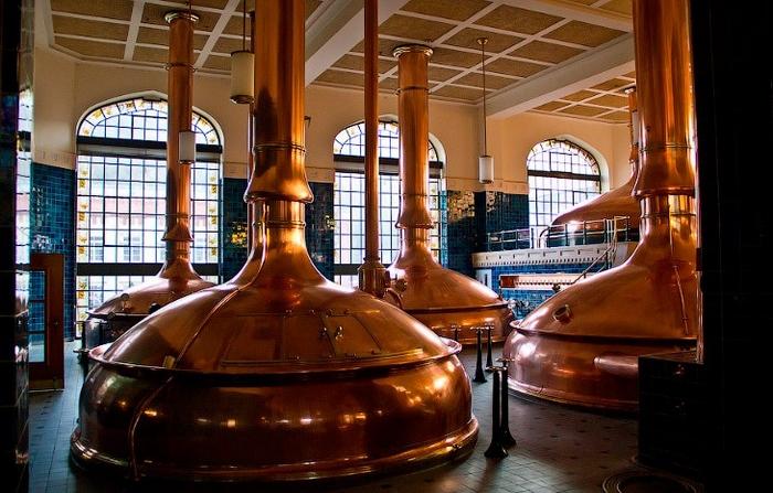 Пивоваренный завод Pilsner Urquell