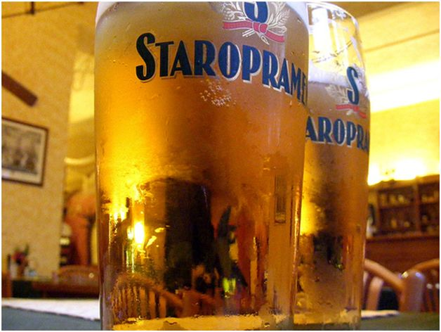 Пивоварня Старопрамен в Праге