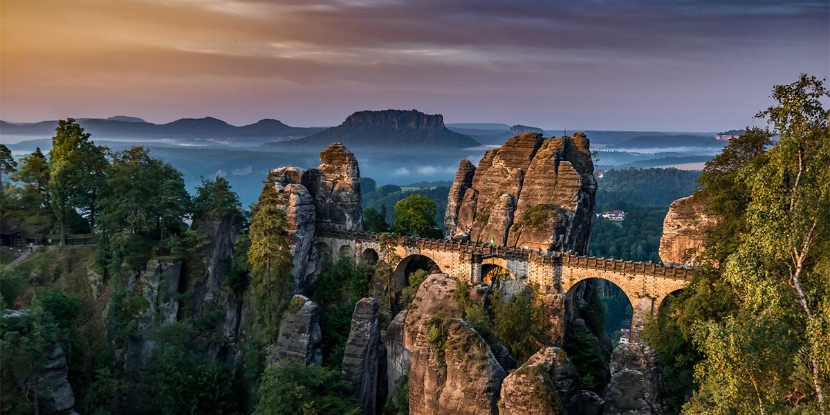 Экскурсия в Cаксонскую Швейцарию из Праги