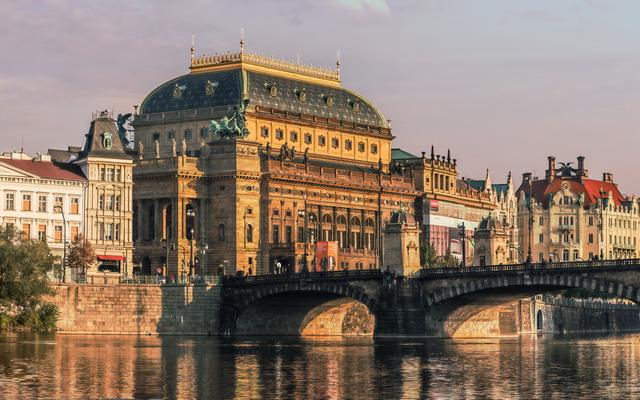 Национальный театр Чехии в Праге