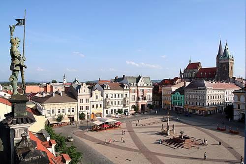Город Колин в Чехии