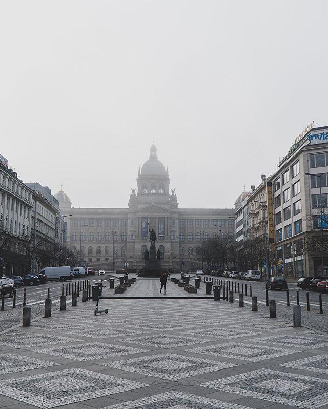 Коронавирус в Чехии, Прага, Вацлавская площадь