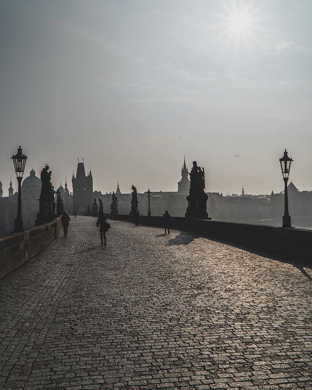 Коронавирус в Чехии, Прага, Карлов мост