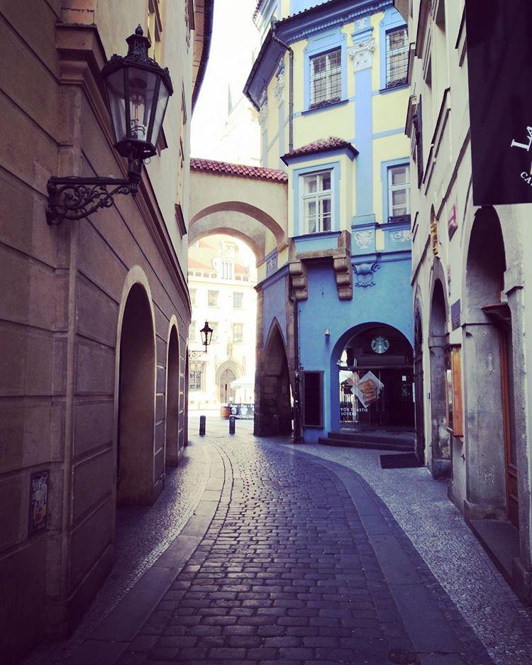 Коронавирус в Чехии, Прага, пустые улицы