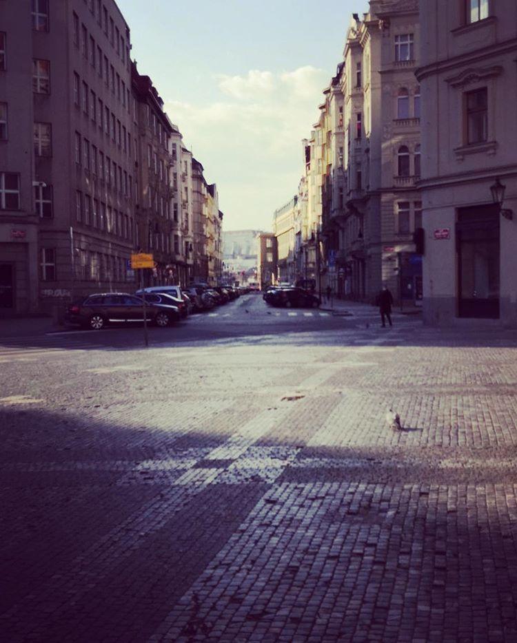 Коронавирус в Чехии, Прага, пустые улицы города